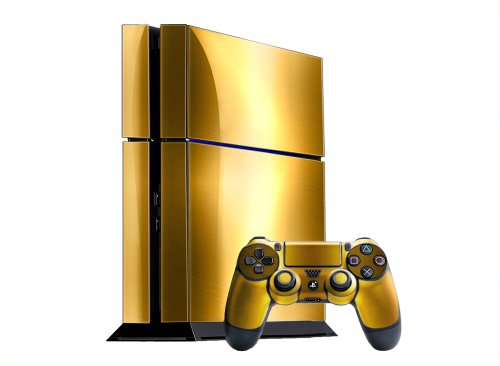 24ct Gold PlayStation 4