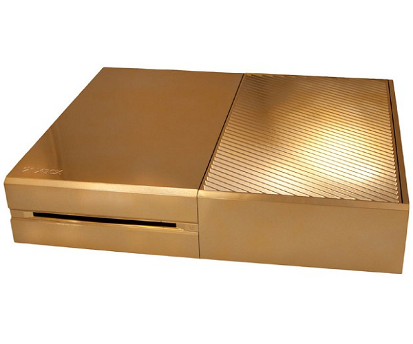 24ct Gold Xbox One Console